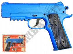 Crosman Air Mag 1911 CO2 Powered Airsoft BB Gun Black and Blue
